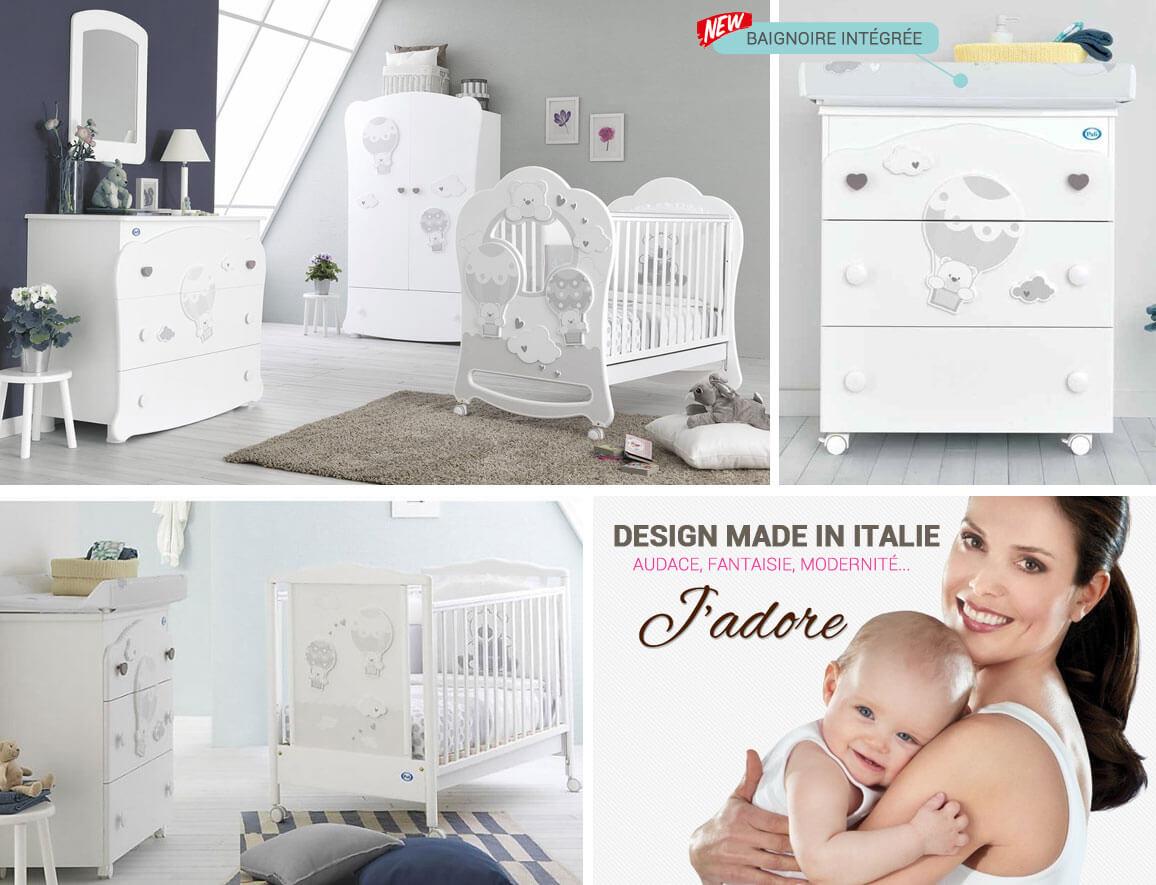 Chambre bébé Bonnie - Tous les produits