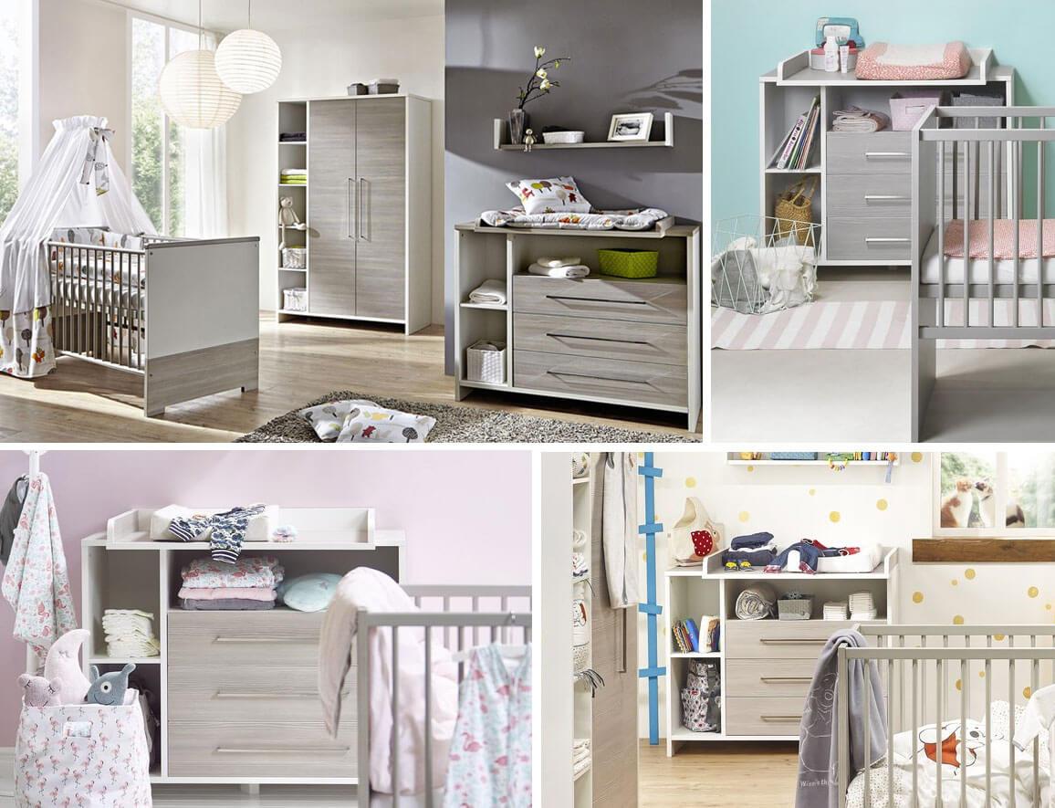 ᐅ Chambre bébé Largo • Mobilier tendance à Prix Mini • Jurassien